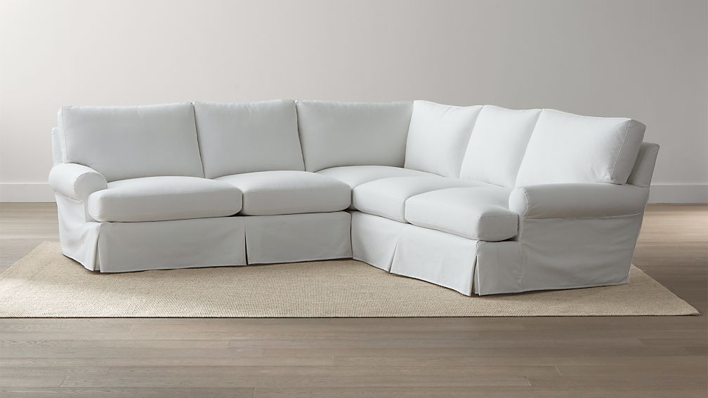 Ellyson Slipcovered 2-Piece Sectional