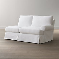 Ellyson Slipcovered Right Arm Loveseat