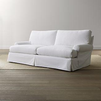 Ellyson Petite Slipcovered Sofa