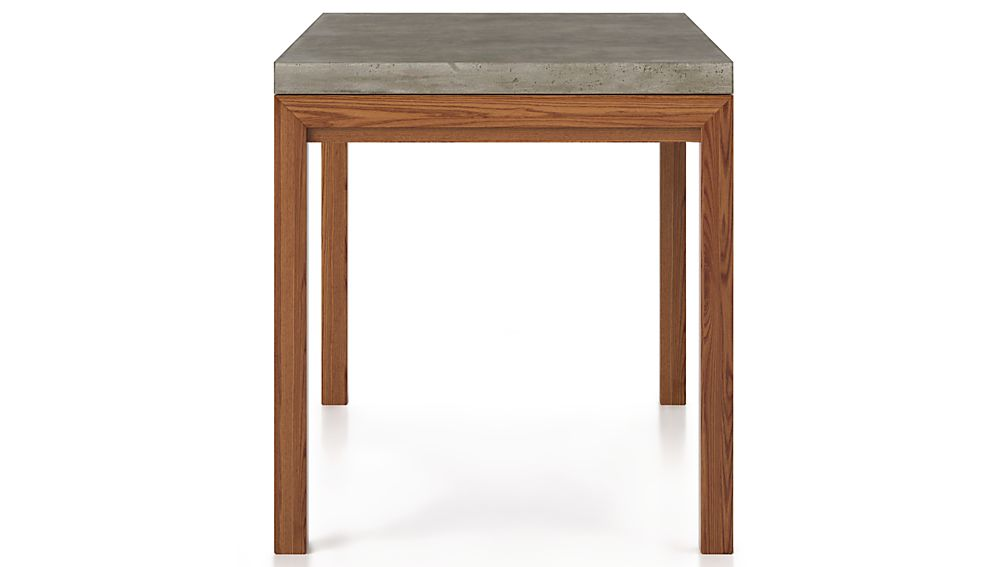 Crate And Barrel Concrete Dining Table Concrete Top/ Elm Base Dining Tables | Crate and Barrel