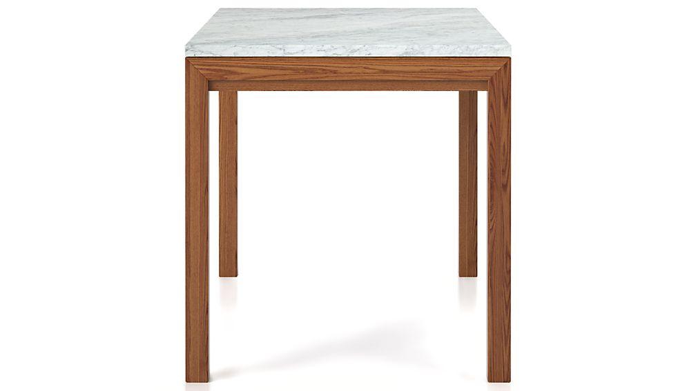 Marble Top Elm Base Dining Tables Crate and Barrel : ElmBs48x28MblTpSdF143D from www.crateandbarrel.com size 1008 x 567 jpeg 25kB