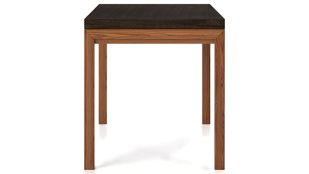 Myrtle Top/ Elm Base 48x28 High Dining Table