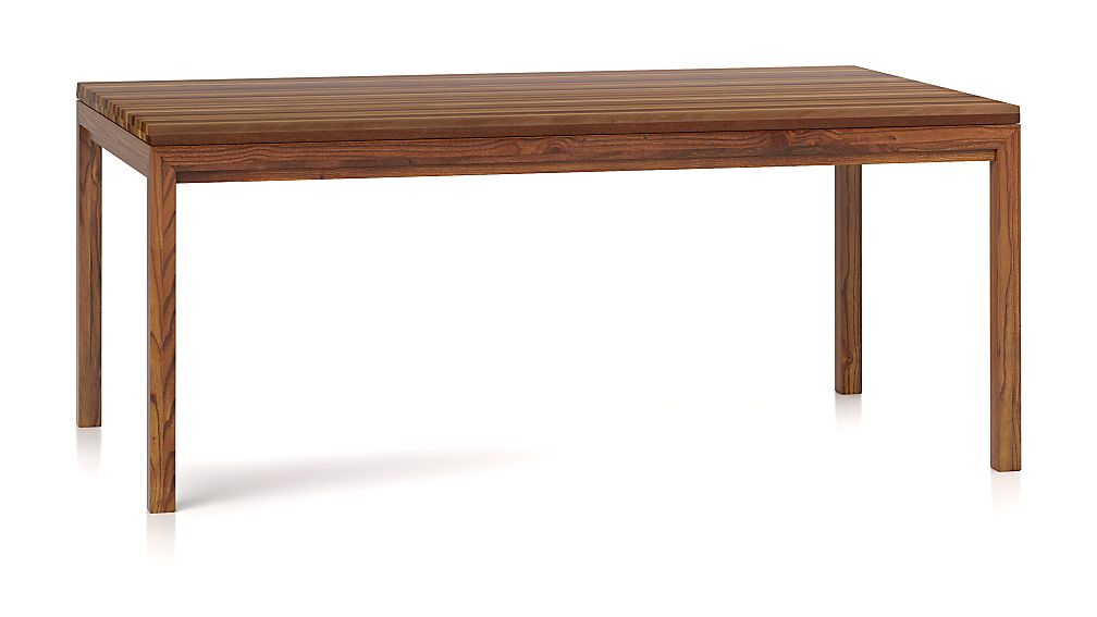 Reclaimed Wood Top/ Elm Base 72x42 Dining Table