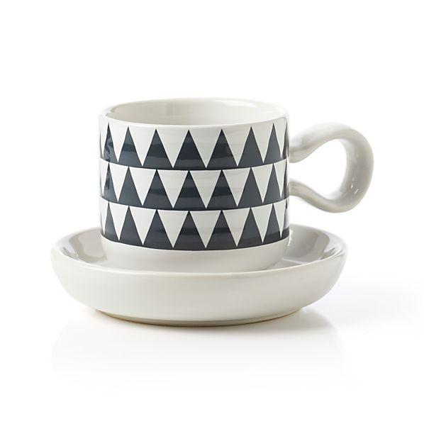 Elsa Espresso Cup with Saucer