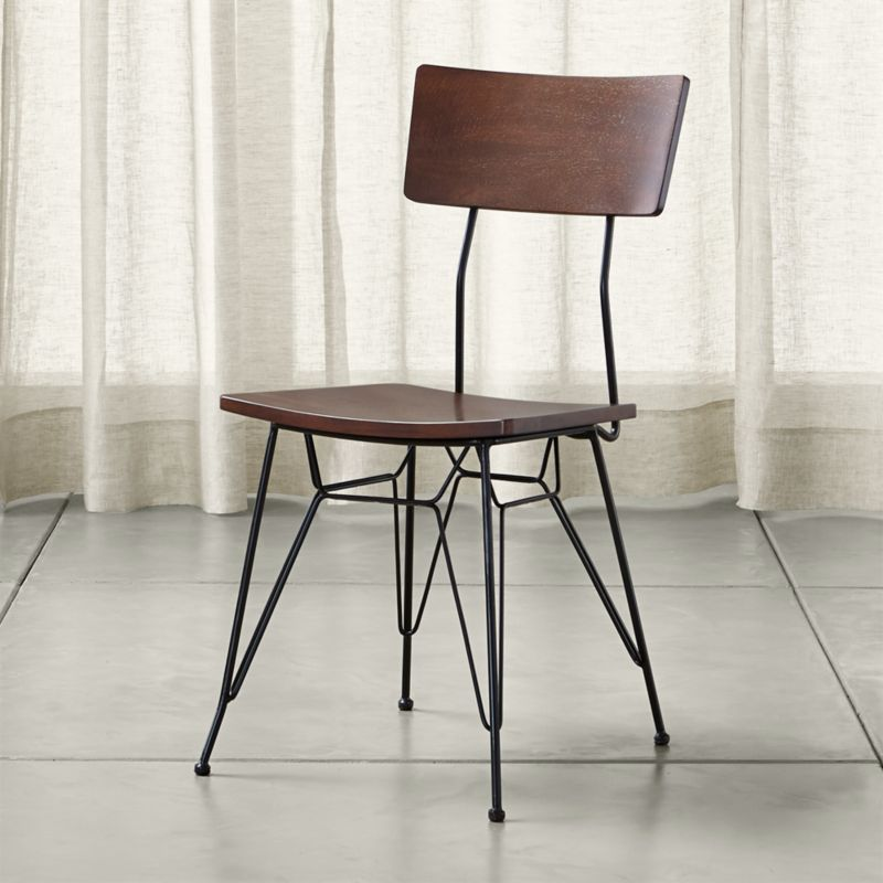 Crate And Barrel Dining Chairs: Elston Dining Chair