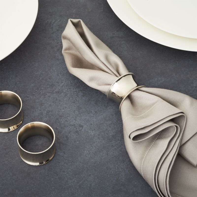 Emerson Napkin Ring Crate And Barrel