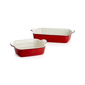 Emile Henry Modern Classic Rouge Red Bakers