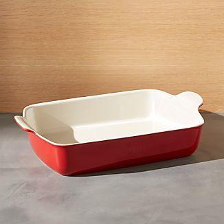 Emile Henry Modern Classic Rouge Red Rectangular Baker