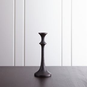 Emmett Small Bronze Taper Candle Holder