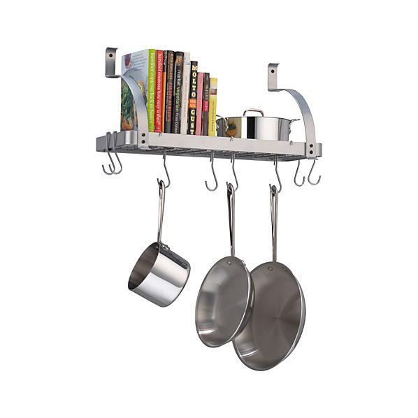 Enclume ® Bookshelf Pot Rack