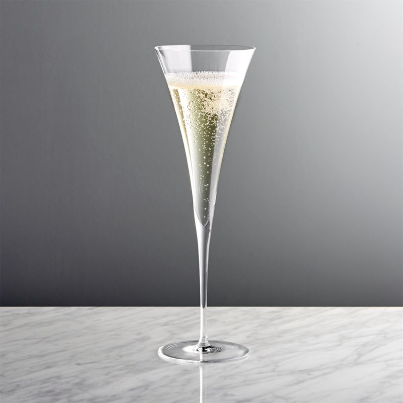 Enoteca Toasting Champagne Flute Crate And Barrel