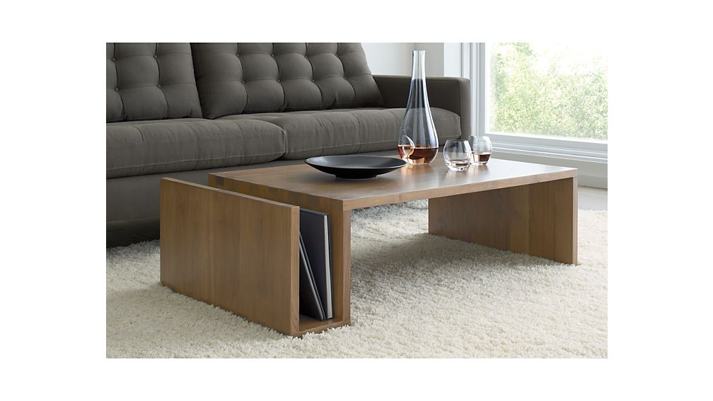 Entu Coffee Table Crate And Barrel