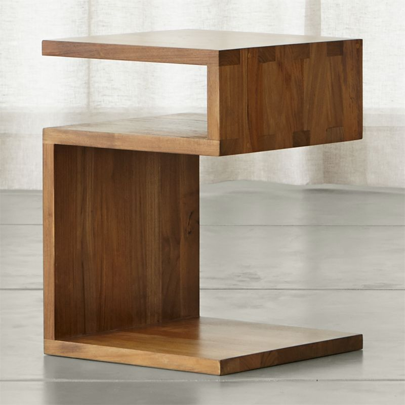 Entu Side Table Crate And Barrel