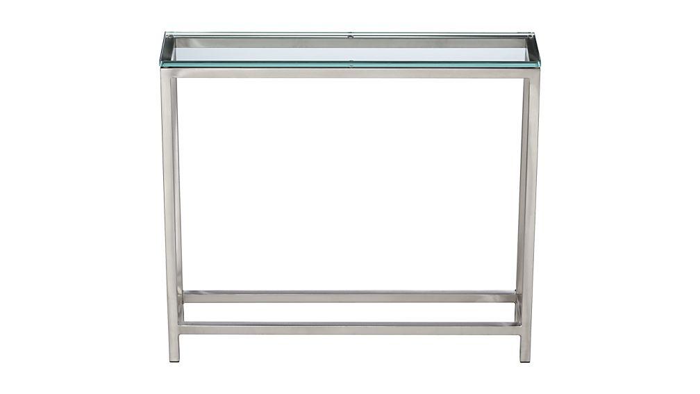 Era Glass Console Table