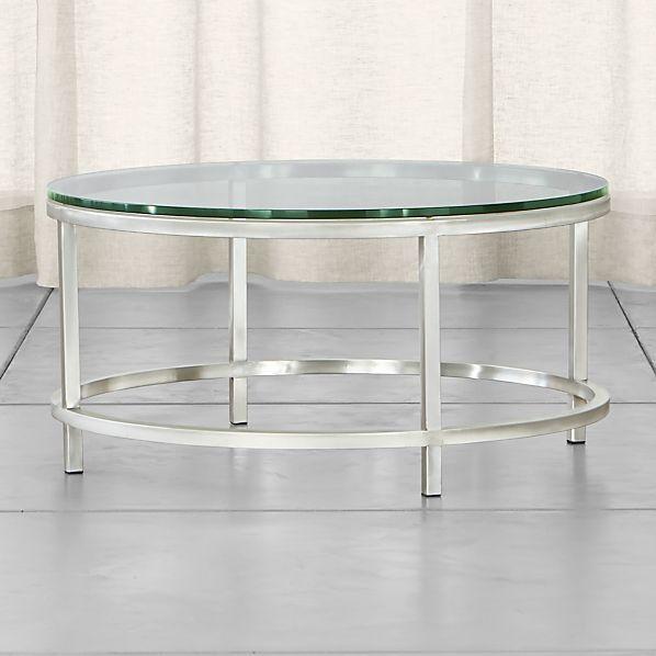 Era Round Glass Coffee Table