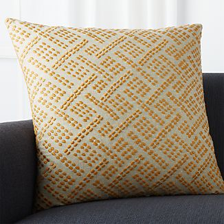 "Ernest Amber 23"" Pillow"