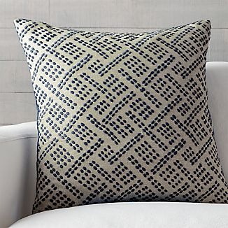 "Ernest Indigo 23"" Pillow"