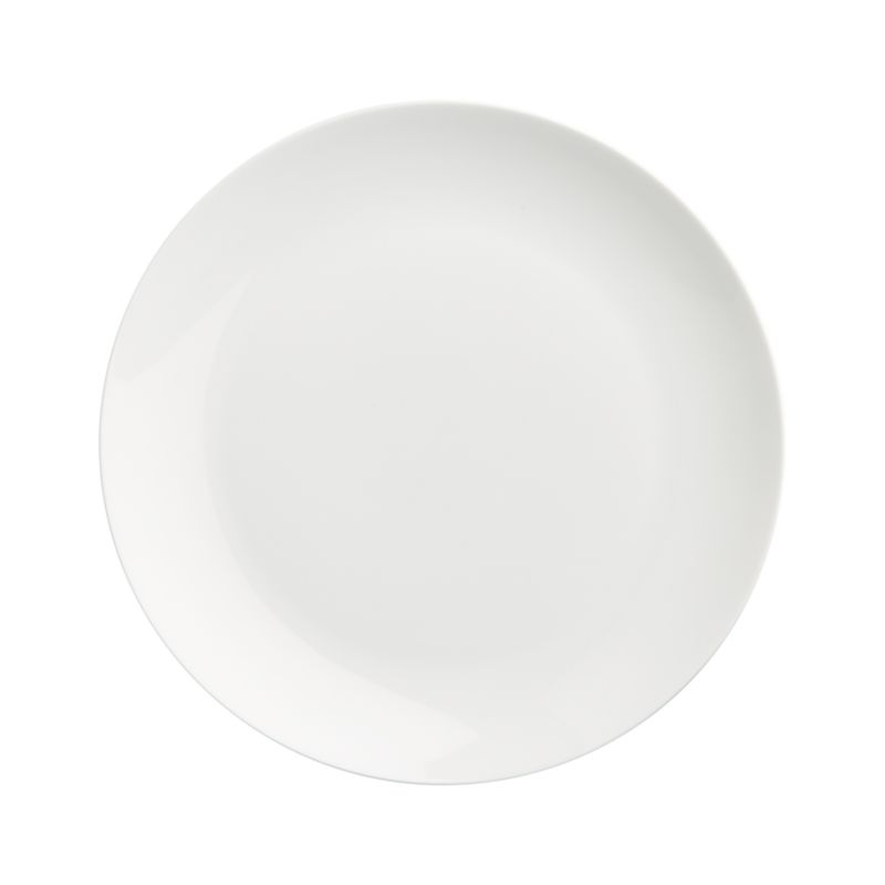Crisp white oversized coupe shape in durable porcelain goes casual for everyday, or sophisticated for formal dinners.<br /><br /><NEWTAG/><ul><li>Porcelain</li><li>Dishwasher-, microwave- and warm oven-safe to 300 degrees</li><li>Made in Indonesia</li></ul>