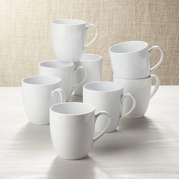 Set of 8 Essential Mugs