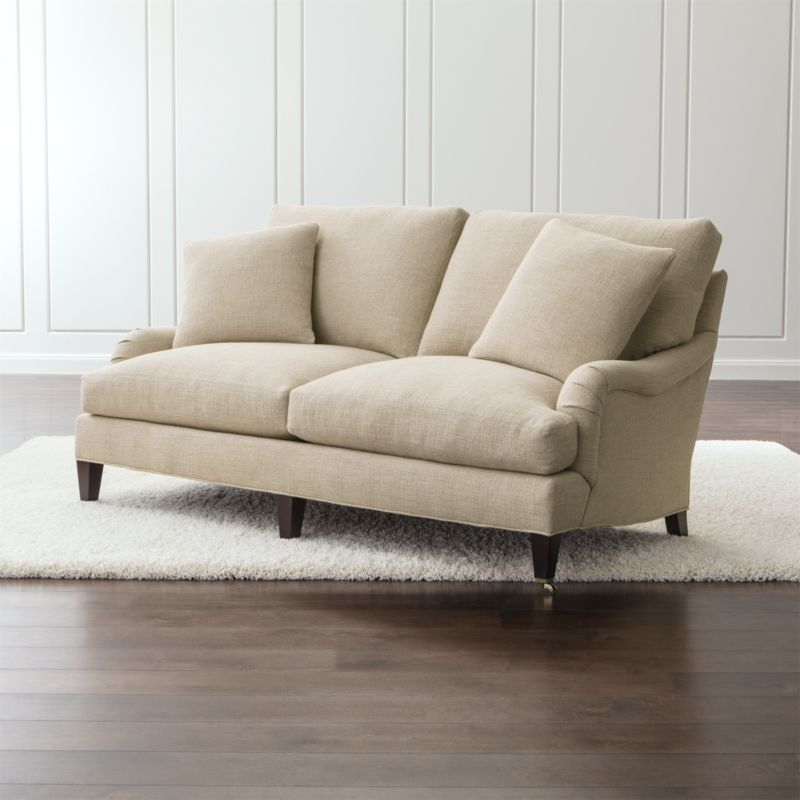 Quality Of Crate And Barrel Furniture: Best Crate And Barrel Sofa Petrie Mid Century Sofa Crate