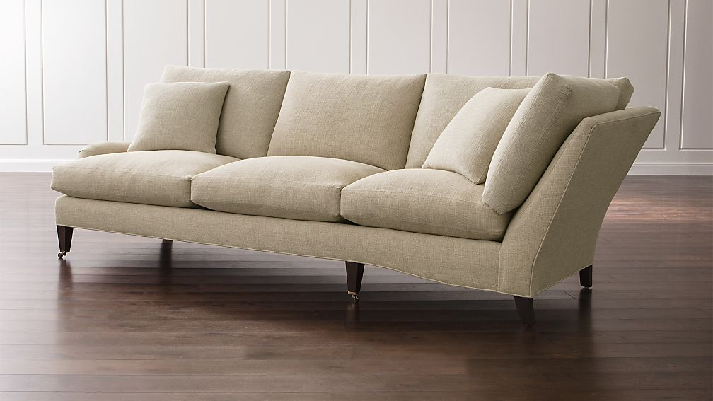 Essex Left Arm Corner Sofa with Casters