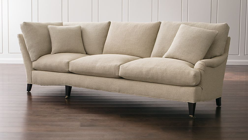 Essex Right Arm Corner Sofa with Casters