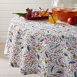 "Eve 60"" Round Tablecloth"