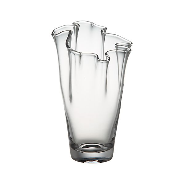 Evelyn Clear Small Vase