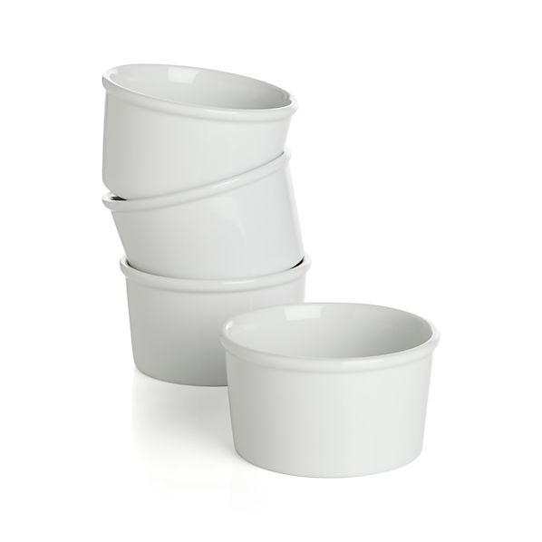 "Set of 4 Every 4.25"" Ramekin Bowls"
