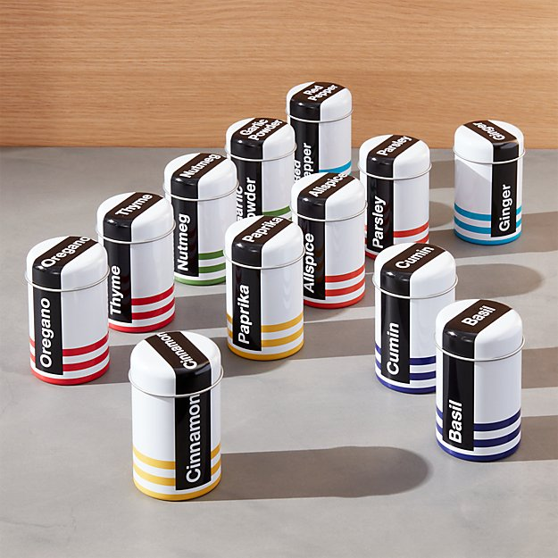 Everyday Spice Shakers Set of 12