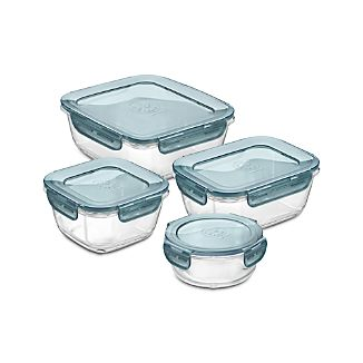 Evolution ® 4-Piece Glass Storage Set