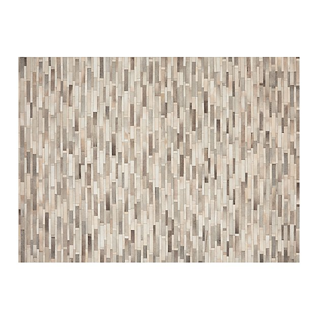 Ewing Striped Cowhide 9'x12' Rug