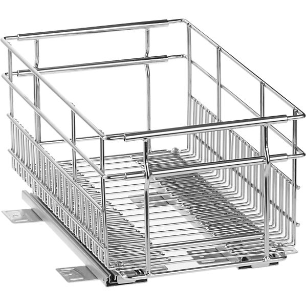 Large Expandable Pull-Out Basket