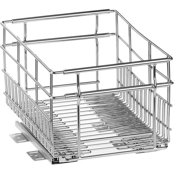 Small Expandable Pull-Out Basket