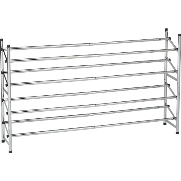 Set of 2 Expandable Shoe Rack