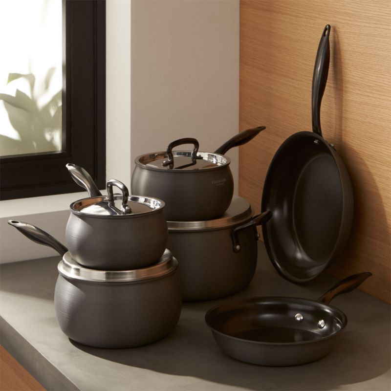 Fleischer and Wolf 10-Piece Lisbon Titanium Ceramic Cookware Set