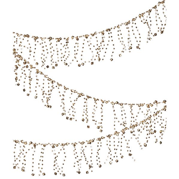 Gold Faceted Garland