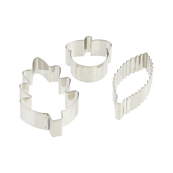 3-Piece Fall Cookie Cutter Set