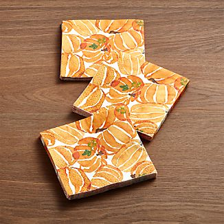 Fall Harvest Paper Beverage Napkins Set of 20