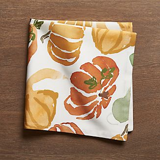 Fall Harvest Cloth Dinner Napkin