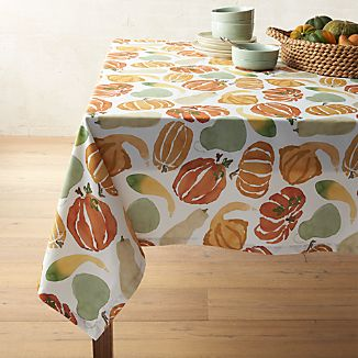 "Fall Harvest Tablecloth 60""x90"""