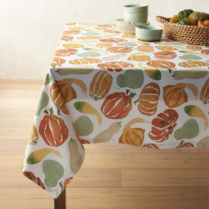 "Fall Harvest Tablecloth 60""x120"""