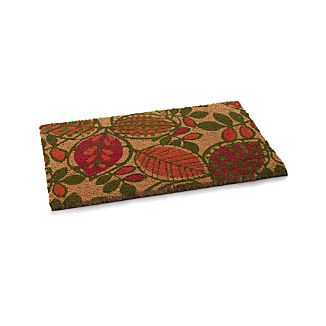 Leaves Coir Doormat