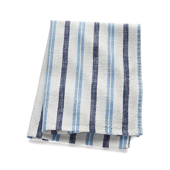 FarmhouseBlueStripeDishTowelF16
