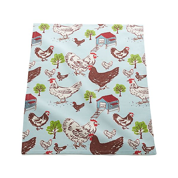 Farmhouse Hen Dish Towel
