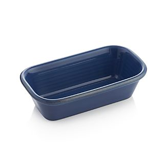 Farmhouse Blue Loaf Pan