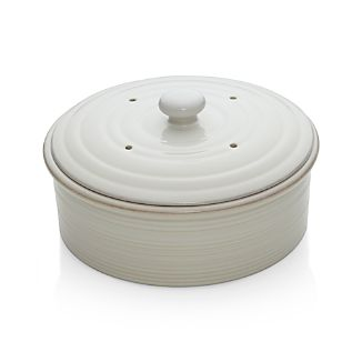 Farmhouse White Pancake Warmer