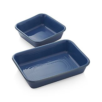 Farmhouse Blue Baking Dishes