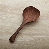 Farmhouse Wood Serving Spoon