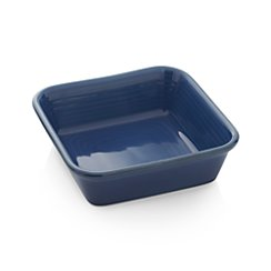 Farmhouse Square Blue Baking Dish